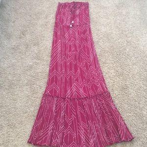 Love stitch maxi dress, size medium